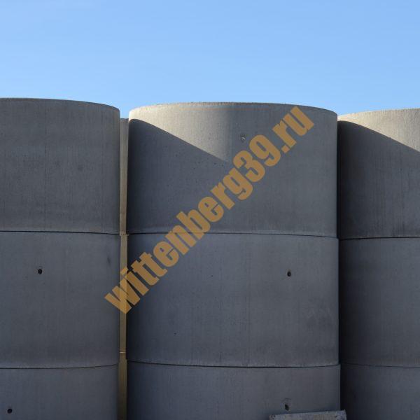 Кольца бетонные вибропрессованные (с фальцевым соединением)
